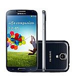 Black samsung gt-i9500 galaxy s4 16gb android desbloqueado smartphone (5.0 polegadas