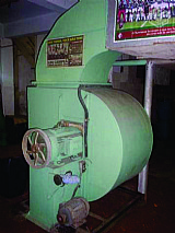 Ventilador industrial para secagem
