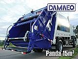 Coletor compactador de lixo - modelo panda - damaeq