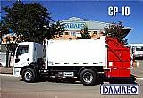 Coletor compactador de lixo - linha cp (apenas o implemento)