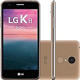 Smartphone lg k4 branco 4g tela 4.5 android 5.1 camera 5mp quad core 1ghz 8gb