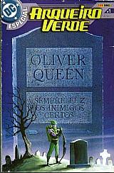 Arqueiro verde,  dc especial nº 1,  148 paginas lancado dc comics marco 2004