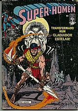 Super-homem n 84,  transformado num gladiador estrelar 1991