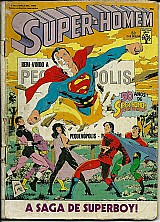 Super homem nº 53 pequenopolis a saga do superboy 1988
