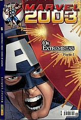 Marvel 2003 nº 6,  os extremistas parte 1,  homem de ferro,  vingadores,  capa dura