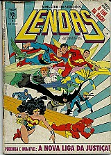 Lendas,  o fim da saga,  mini serie em 6 edicoes