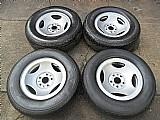Ranger ford roda ferro original aro 14 pneu usado jogo p.fumagalli cpa mooca