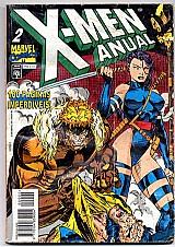 X-man anual n 2,  marvel comics,  100 paginas imperdiveis
