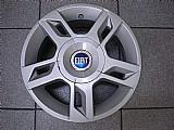 Fiat abarth roda esportiva aluminio original mangels aro 14 jogo p.fumagalli cpa mooca