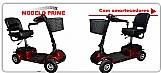 Cadeiras de rodas scooter mobility silver/prime