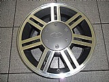 Roda do ford fiesta sport original aluminio aro 14 jogo completo diamantada grafite p.fumagalli cpa mooca