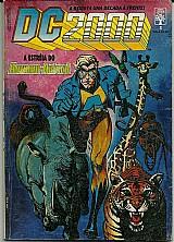 Estreia do homem-animal,  revista dc 2000 nº 3