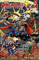 Marvel vingadores,  busiek perez jla,  dc nº 2