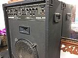 Amplificador wattson 360w   cabos diversos   3 microfones com fio   cd player fhillips