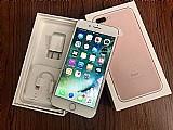 Novo samsung galaxy s8 novo mais apple iphone 7/7 mais ouro rosa 256gb