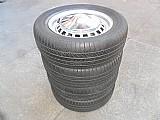 Jogo de rodas do fusca tl variant original ferro aro 15 volkswagen pneu usado jogo michelin calota cromada p.fumagalli cpa mooca centro tatuape