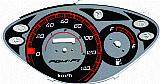 Velocimetro e conta giro para motos