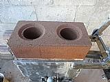 Prensa compacta para tijolo ecológico 25x12, 5cm