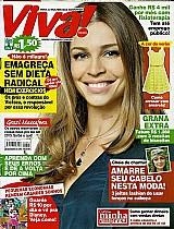 Revista um fim de ano muito especial para grazi massafera,  revista viva mais n⺠691