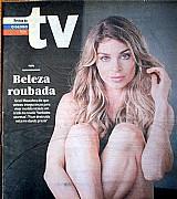 Revista resolvi me jogar,   grazi se surpreende com elogios,  revista da tv 09-08-2015