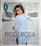 Revista poderosa,  grazi indicada ao premio de melhor atriz,  ddomingo 13-11-2016