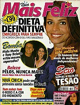 Revista eles tem medo delas,  grazi esta solteira,  revista mais feliz 228 20-04-2007