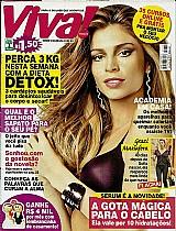 Revista parabens grazi,  30 anos rodeada de carinho,  revista viva mais n⺠666
