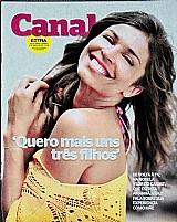 Revista quero mais uns 3 filhos,  afirma grazi,  revista canal  extra n 989