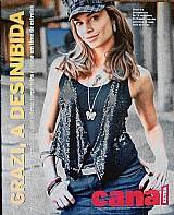 Revista basta o jeitnho dela andar,  grazi massafera,  revista canal  extra n 655