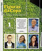 Figuraca,  galvao bueno,  principal nome da copa do mundo no brasil,  revista canal extra n 843