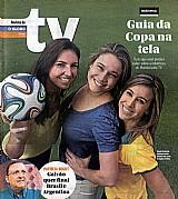 Fernanda gentil,  glenda kozlowski cristiane dias,  revista da tv 08-06-2014