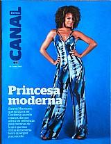Princesa moderna, sheron menezes,  que sonhava ser ciderela,  revista canal extra nº 900