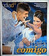 Parceiros no dancing brasil,  baila comigo,  mayte piragibe e paulo victor