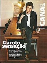 Chay suede,  dono do pedaco,  revista canal extra nº 854