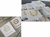 Caixa mdf personalizada e decorada para casamento ou eventos