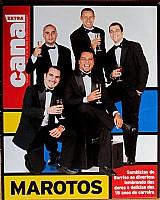 Bodas de cristal do grupo de samba sorriso maroto,  revista canal extra n 729