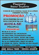 Thaypolly bazar imperio vende-se água