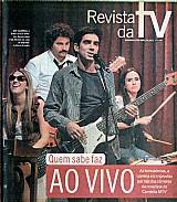 Quem sabe faz ao vivo,  brincadeiras,  correria e improviso,  revista da tv 08-04-2012