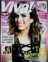 Ela e ainda mais divertida fora de cena,  revista viva mais nº 820