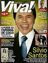 As melhores tiradas e pegadinhas de silvio santos,  rei da tv,  revista viva mais nº 819