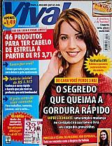 Habitos surpreendentes de nathalia dill e o lado b,  revista viva mais nº 569