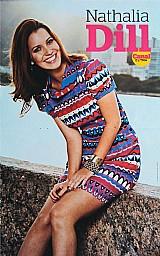 Nathalia dill,  poster (30cm x 48cm) da revista canal extra