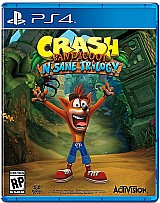 Crash bandicoot trilogy ps4 novo lacrado santo andre