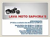 Lavagem exclusivo para motos