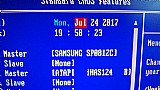 Placa logica de hd samsung sp0812c - sata - 80gb
