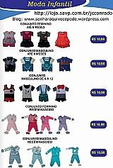 Conjuntos de roupas infantis