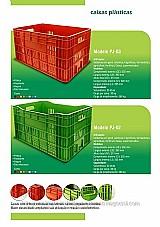 Caixas plásticas agrícolas