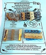 Kit diversao componentes eletrônicos  - 265 pecas