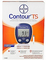 Kit monitor glicose contour ts