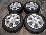 Vectra elegance jogo rodas originais gm aluminio aro 16 pneu usado pirelli 205/55r16 jogo p.fumagalli cpa mooca